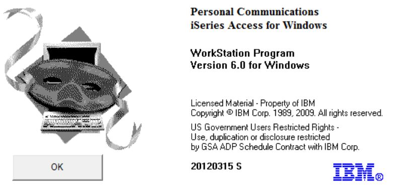 Personal Communications iSeries Access for Windows