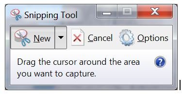 Using the Windows 7 Snipping Tool for Exporting Screen ShotsJoe Hertvik: Tech Machinist